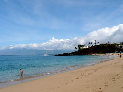 Kaanapali Beach and Black Rock