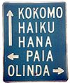 Maui Directions